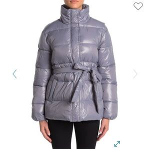 Lover + friends cold night quilted puffer jacket